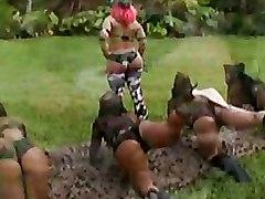 Big Ass Ebony Outdoor
