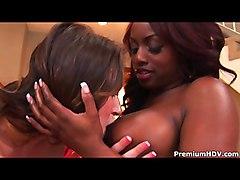 Lesbian Ebony Interracial Lingerie Black-haired Brunette Caucasian Ebony Interracial Lesbian Licking Vagina Lingerie Masturbation Oral Sex Piercings Shaved Vaginal Masturbation