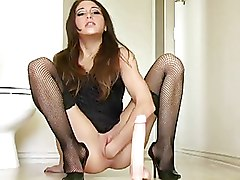 Fisting Masturbation Stockings babes dildos solo