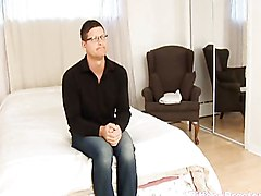 Blowjob Cumshot MILF Blowjob Brunette Caucasian Couple Cum Shot Handjob MILF Masturbation Oral Sex Stockings Swallow Tiffany Preston