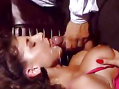 Big Tits Cum Swallowing Milf Stockings