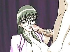 Anime Slut Pleasuring A Cock And Gets Facial