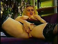 BBW Big Tits Stockings
