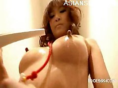 babe oil rubbing asian with massage is naughty having fun herself misa kikouden