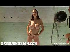 submission bdsm bondage bound tie fetish slave master big tits boobs hooters jugs breasts racks brunette