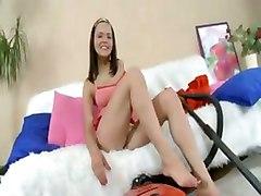 brunette dildo toys mast