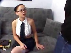 Young Latina Amateur Dicked And Creamed