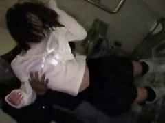 sex teen blowjob amateur asian public drunk