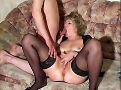 Blondes Matures Stockings