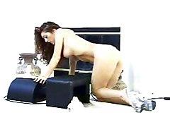 Masturbation Brunette Caucasian Glamour Masturbation Solo Girl Toys Vaginal Masturbation Vaginal Sex
