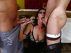 Double Penetration Group Sex ass babe blowjob boobs brunette busty dp juggz oral pornstar