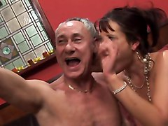 British Slut Tanya Gets Fucked In Black Stockings