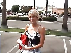 Blondes Car Teen