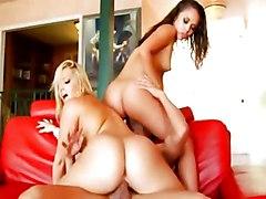 Anal Group Blonde Anal Sex Blonde Blowjob Brunette Caucasian Cum Shot Licking Vagina Oral Sex Shaved Threesome Vaginal Sex Alexis Texas Kristina Rose