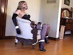 BDSM Foot Fetish Stockings