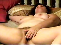 BBW Hairy Masturbation