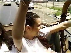 Public Sex Joyride In A Jeep