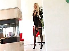 pornstar interracial blowjob blonde big tits cumshot facial