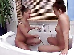 Bathroom Lesbian Pissing