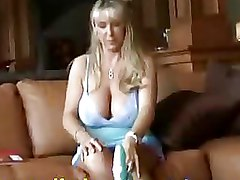 Housewives Mature blonde blowjob pov