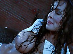 Big Tits MILF Big Ass Big Tits Brunette Caucasian Couple Cum Shot MILF Outdoor Pornstar Vaginal Sex Lisa Ann