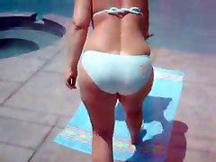 bikini asses teasing