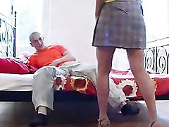 Bedroom Mature older riding