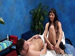 18 eighteen massage hidden camera spy cam surprise pussy seduced escort happy ending rubdown girl client