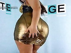 latina solo teasing bigass softcore poledancing