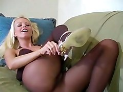Playtime Pantyhose Stockings Tease Solo Masturbation Strip Solo Softcore Babes Feet