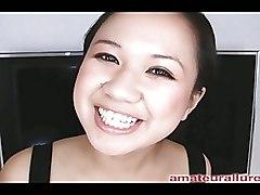 Asian Blowjobs Deep Throat allure blowjob carmina cum cumshot eat oral sex swallow
