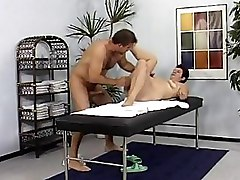 Brunettes Massage Mature