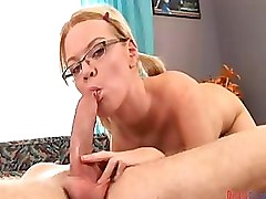 Blowjobs Deep Throat Glasses