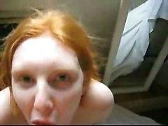 Nice Redhead Facial