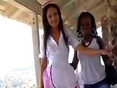 black lesbian hunters hot nurse