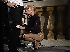 anal stockings cumshot facial blonde blowjob shaved fingering pussylicking