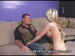 audition big tits blonde stripper strip pole casting blowjob tattoo pornstar