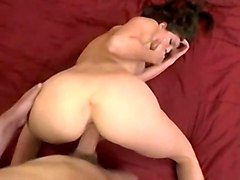 jenni lee pornstar tight brunette lingerie teasing tits blowjob POV riding ass doggystyle pussy cumshot facial striptease