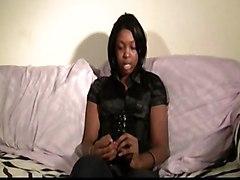 cumshot black hardcore blowjob threesome ebony blackwoman pussyfucking