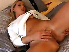 Babes Fingering Shaved Pussy