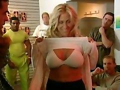 gangbang lingerie shop