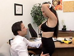 cumshot hardcore blowjob tattoo titjob bigtits asian pussyfucking office