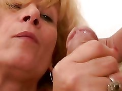 Bedroom Mature Moms and Boys Riding