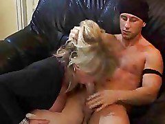 Big Cock Granny Riding Stockings