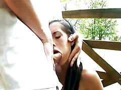 Anal Anal Sex Black-haired Blowjob Caucasian Couple Cum Shot Oral Sex Outdoor Pornstar Shaved Vaginal Sex Anaya Leon