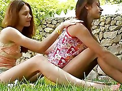 Lesbian Outdoor Teen