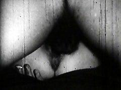 Lingerie Vintage Caucasian Couple Cum Shot Hairy Licking Vagina Lingerie Oral Sex Stockings Vaginal Sex Vintage