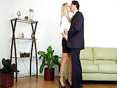 MILF Blonde Blonde Blowjob Caucasian Couple Cum Shot High Heels Licking Vagina MILF Masturbation Oral Sex Shaved Vaginal Masturbation Vaginal Sex Brooke Tyce