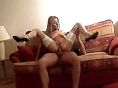 Anal Big Tits High Heels Riding Stockings White