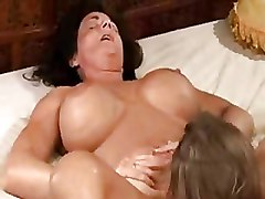 Big Tits Lesbian Moms and Teens Pussy Licking